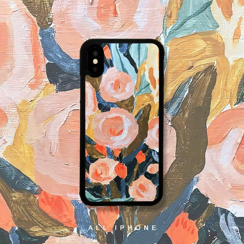 wholesale iphone case oil painting print