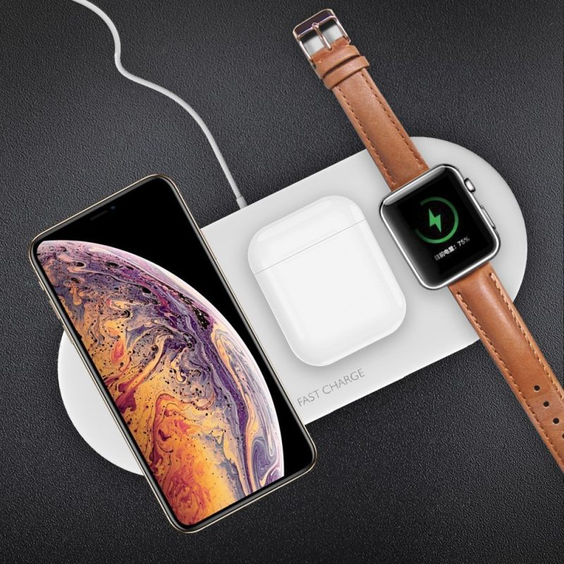 3-in1 wireless charger pad, iphone, airpod, apple watch