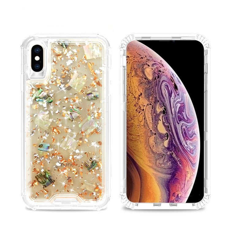 floral iphone case, glittering wholesale